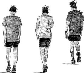 after jogging