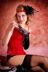 Burlesque Carnival Sexy Girl #5