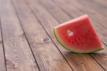 sliced ​​watermelon