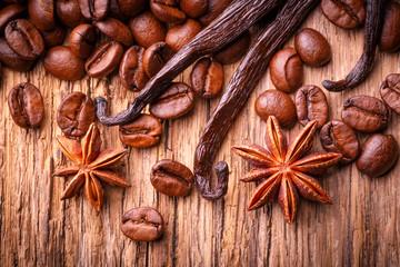 Duft von Kaffee, Vanille und Anis