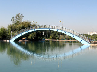 Tashkent Almazar the bridge 2007