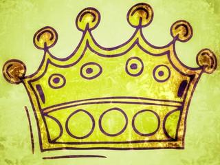 alte Krone - vintage crown...