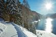 Davosersee in der Sonne – Schweiz