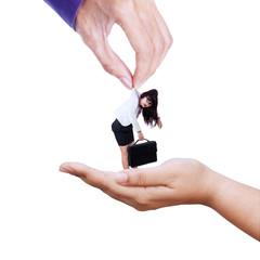 Subordinate transaction for business