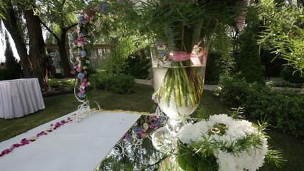 Places wedding ceremony