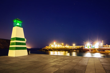 Hafeneingang von Puerto Mogan – Gran Canaria