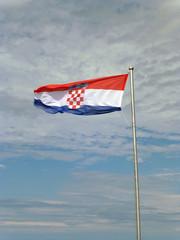 Kroatische Flagge