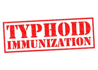 TYPHOID IMMUNIZATION