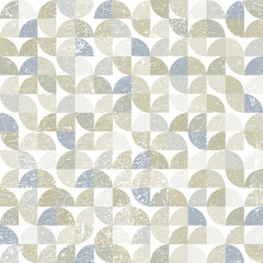 Vector geometric neutral textile abstract seamless pattern, cont