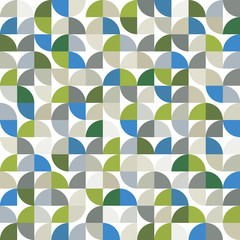 Vector geometric colorful background, squared abstract seamless