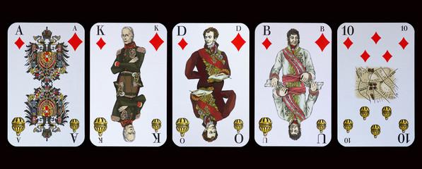 Spielkarten - Die Helden der Völkerschlacht zu Leipzig
