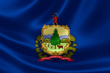 State of Vermont Flag
