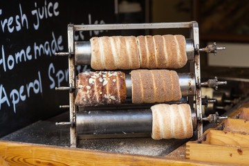 traditionelles Trdelnik Gebäck in Prag