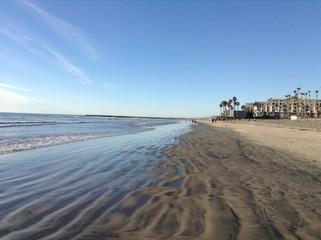 Wintery California Beach