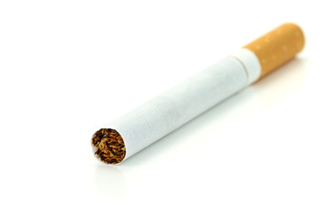 Cigarette, isolated on white background