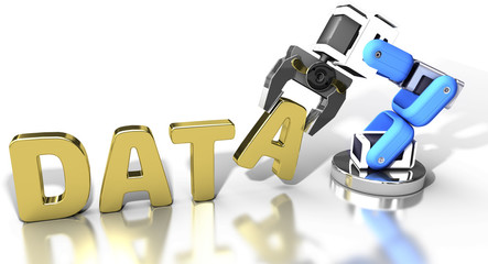 Robotic web data storage technology