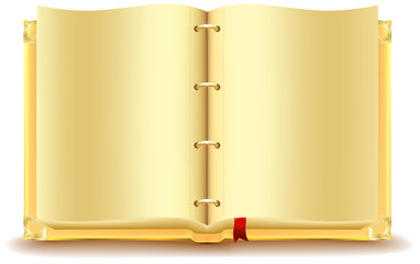 Open gold book