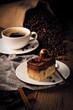 Kaffe mit desert