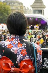 japanese festival in trafalgar square
