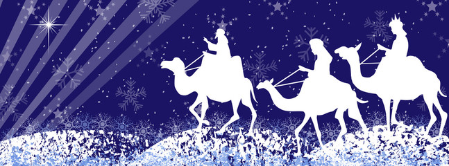 Three wise men silhouette-facebook timeline