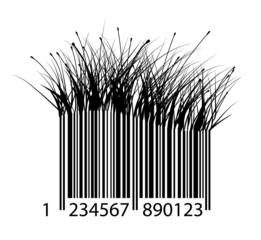 barcode of grass