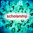 Scholarship Education Represents College Academy And Graduating