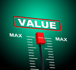 Value Max Represents Upper Limit And Cost
