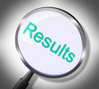 Magnifier Results Means Searches Success And Magnification