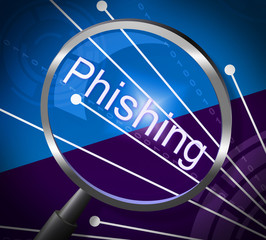 Phishing Fraud Represents Rip Off And Cheat
