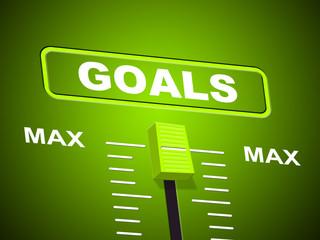 Goals Max Shows Upper Limit And Maximum