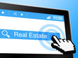 Real Estate Indicates On The Market And Web