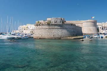 Castello di Gallipoli, Puglia, Italia