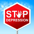 Stop Depression Shows Lost Hope And Caution