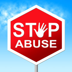 Abuse Stop Shows Indecently Assault And Abuses