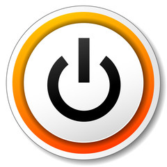 Vector power icon