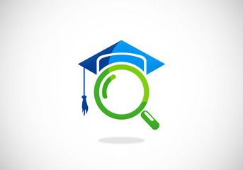 education search college university logo