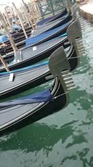 Gondeln in Venedig Details
