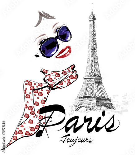 kobieta-w-paryzu-blisko-wiezy-eiffla