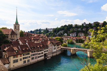 Bern, Capital city of Switzerland, World Heritage Site by UNESCO