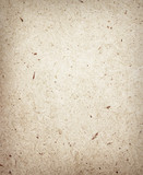 Pressed brown chipboard texture. Wooden background. poster