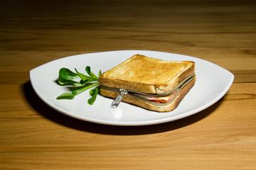 zipped toast