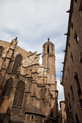 Gothic Architecture of the Barcelona Cathedral