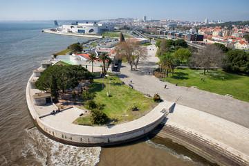 Tagus River Promenade in Lisbon