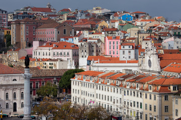 Picturesque Old City of Lisbon