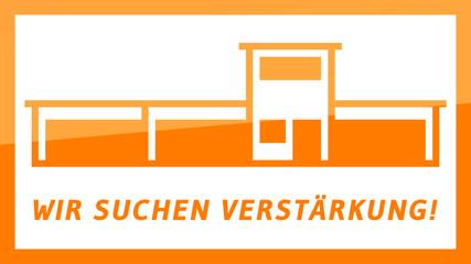 fs15 FactorySign - Wir suchen Verstärkung - orange g1826 - 16zu9