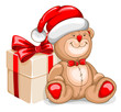 Christmas Bear toy