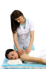Lekarz i masaż