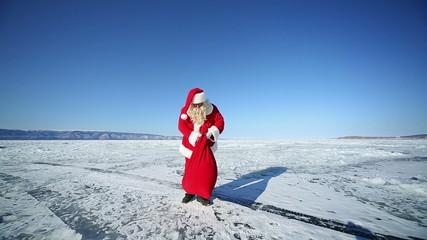 Travel Santa on Lake Baikal