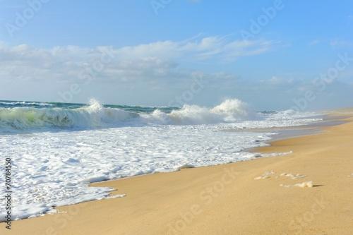 plage de la côte landaise