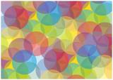 Fototapeta bright bubbles vector background